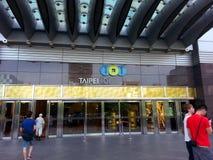 101 Taipei Taiwan Royaltyfri Fotografi
