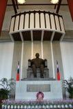 TAIPEI, TAIWAN - APRIL 15, 2015. The main entrance of Sun Yat-Sen Memorial Hall at Taipei on April 15, 2015. The bronze statue of Dr.Sun Yat-Sen, the political Stock Photos