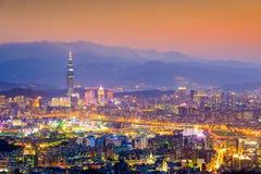 Taipei, Taiwan City Skyline Stock Image