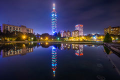Taipei, Taiwan Cityscape Stock Photos