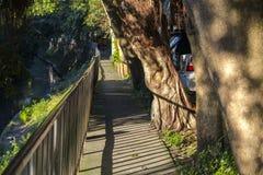 Taipei, Taiwan, Community Park, Little Park, Creekside. Taipei, Taiwan, community park, rest park, is a creek park stock photo