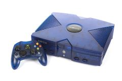 Microsoft`s XBOX Video Game System Royalty Free Stock Images