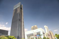 Taipei Taiwan Generic Modern Buildings royalty free stock images