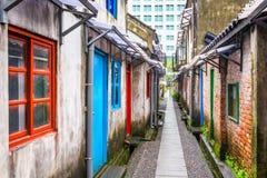 Taipei Taiwan historiska byggnader Royaltyfri Fotografi