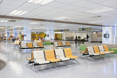 Taipei, Taiwan, June, 6th, 2013: Taipei Song shan   Airport Termi Stock Image