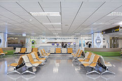 Taipei, Taiwan, June, 6th, 2013: Taipei Songshan   Airport Termi Royalty Free Stock Photos