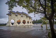 TAIPEI, TAIWAN - NOVEMBER 14, 2017: Chiang Kai-shek Memorial Hal Royalty Free Stock Photos
