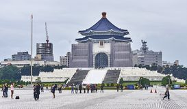 TAIPEI, TAIWAN - NOVEMBER 15, 2017: Chiang Kai-shek Memorial Hal Royalty Free Stock Photography