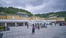 TAIPEI, TAIWAN - NOVEMBER 14, 2017: National Palace Museum on 14 Stock Photo