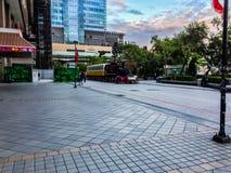 Taipei Taiwan - November 20, 2015: Sikt på Taiwan höga Spee Royaltyfria Bilder