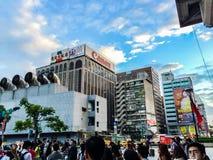 Taipei Taiwan - November 20, 2015: Sikt på Taiwan höga Spee Arkivbilder