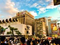 Taipei Taiwan - November 20, 2015: Sikt på Taiwan höga Spee Royaltyfri Foto