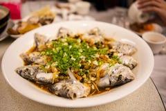 Taipei, Taiwan, ristoranti dei frutti di mare, ristoranti, rubanti gusto fresco e dettagliato del pesce di mare, immagine stock