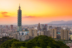 Taipei, Taiwan Skyline Stock Photo