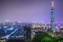 Taipei, Taiwan skyline Stock Images