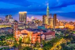 Taipei, Taiwan Skyline Royalty Free Stock Photo