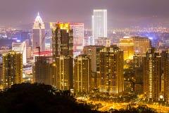 Taipei, Taiwan skylines Royalty Free Stock Photography