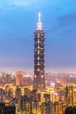 Taipei, Taiwan skylines Stock Images