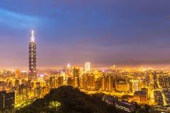 Taipei, Taiwan skylines Royalty Free Stock Images