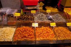 Taipei, Tajwan, Dihua ulica, nowy rok ulica międzynarodowe atrakcje turystyczne, Porcelanowy ` s roczny zakup nowego roku ` s mie zdjęcia stock
