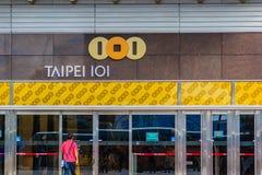 Taipei Tajwan, Listopad, - 22, 2015: Turystyczny odprowadzenie w Tai Obrazy Stock