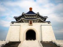 Taipei Tajwan, Maj, - 13, 2019: Zabytek, punkt zwrotny i atrakcja turystyczna wyprostowywający ku pamięci Generalissimo Chiang Ka zdjęcie royalty free