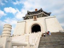 Taipei Tajwan, Maj, - 13, 2019: Zabytek, punkt zwrotny i atrakcja turystyczna wyprostowywający ku pamięci Generalissimo Chiang Ka obrazy stock