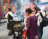 Taipei temple, Taiwan Stock Photography