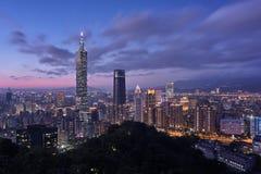 Taipei 101 torn Fotografering för Bildbyråer