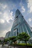 Taipei 101 torn Royaltyfri Fotografi