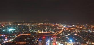 Taipei widok z lotu ptaka 2 Zdjęcia Stock