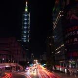 Taipei World Financial Center tower stock photos