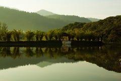 Taiping湖庭院马来西亚 免版税库存照片