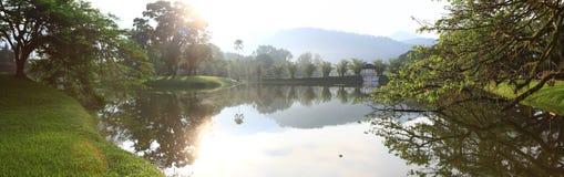 Taiping湖庭院 免版税库存图片