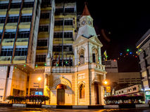 Taiping clock tower malaysia. Monument of clock tower in Taiping Stock Image
