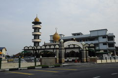 Taiping India Muslim Mosque. PERAK, MALAYSIA – JANUARY, 2014: Taiping Indian Mosque is the place of worship of the Indian Muslim community of Taiping royalty free stock photo