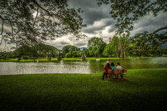 Taiping Lake Garden Stock Image