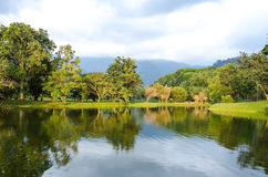 Taiping lake garden at sunset, Taiping, Malaysia Stock Images