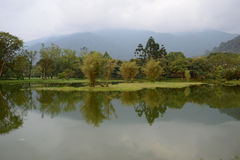 Taiping Lake. Nice Lake Reflection At Taiping, Malaysia Stock Image