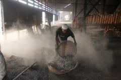 Lavoratore del carbone Fotografia Stock Libera da Diritti