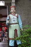 The taiping TIANGUO warrior statue at the GUILIN e Royalty Free Stock Image
