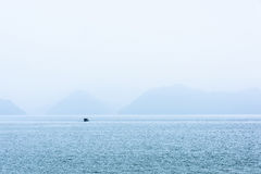 Taipingsmeer in de ochtend Royalty-vrije Stock Foto