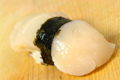 Tairagai sushi Royalty Free Stock Photos