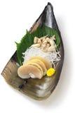 Tairagi(pacific pen shell, atrina pectinata) sashimi, japanese cuisine Stock Image
