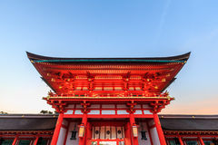 taisha των λαρνάκων του Κιότο inari fus στοκ εικόνες