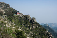 Taishan Berg stockfotografie