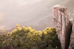 Taishan Berge lizenzfreie stockfotos