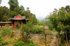 Taishan byggnader Kina Royaltyfria Bilder