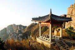Taishan Chiński Gazebo Chiny Fotografia Royalty Free