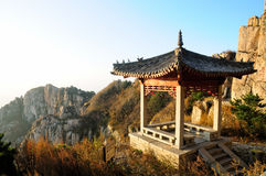 Taishan Chinese Gazebo China Royalty Free Stock Photography
